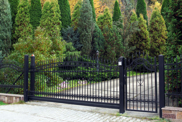 Installed Electric Gate